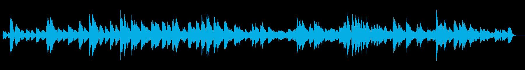 ピアノ、パーソン・プラクティックス...の再生済みの波形