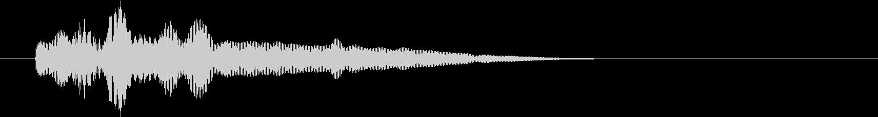 チャラリーンの未再生の波形