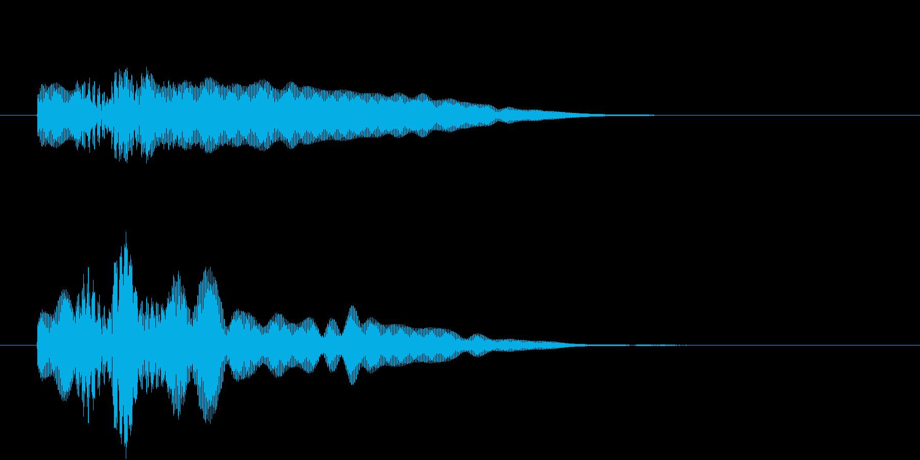 チャラリーンの再生済みの波形