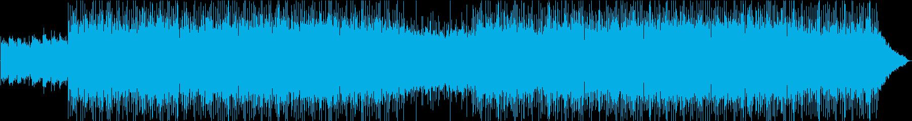 切なくドラマチックなポールモーリア風の曲の再生済みの波形
