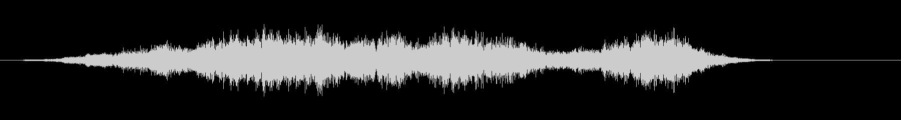 音楽:不気味なオーケストラベルパターン。の未再生の波形