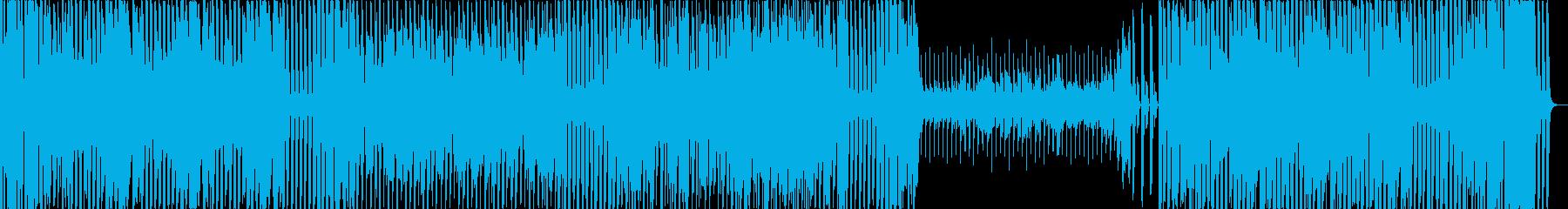 IDLE昭和のキュートなアイドルソングの再生済みの波形