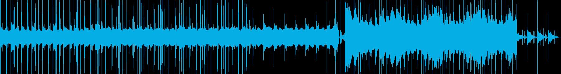 しっとりお洒落なLoFiヒップホップの再生済みの波形