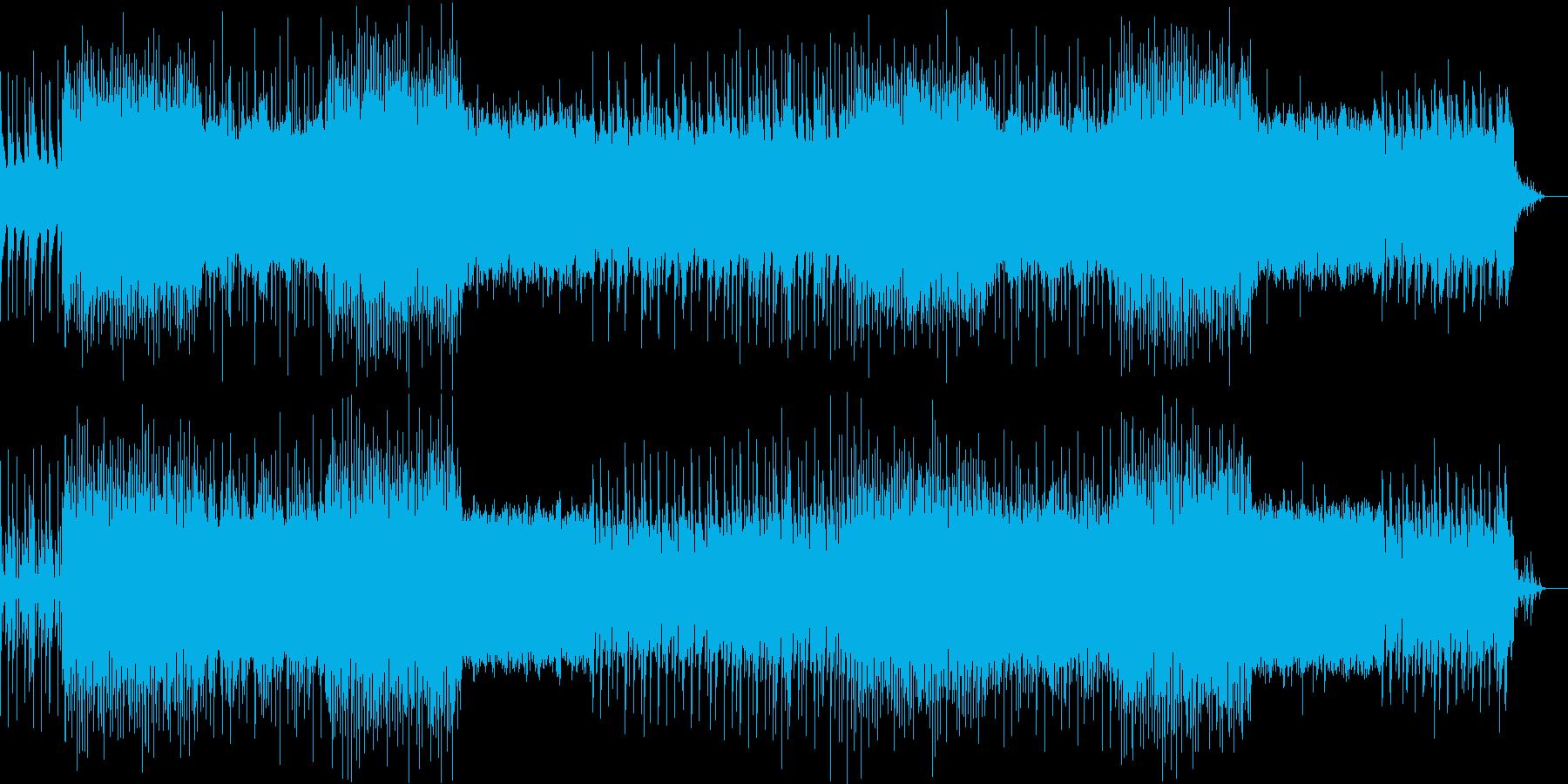 梅雨の時期をイメージしてつくった楽曲で…の再生済みの波形