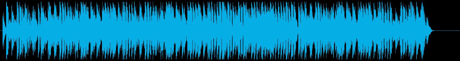 パスタなどの料理に合うジプシースウィングの再生済みの波形