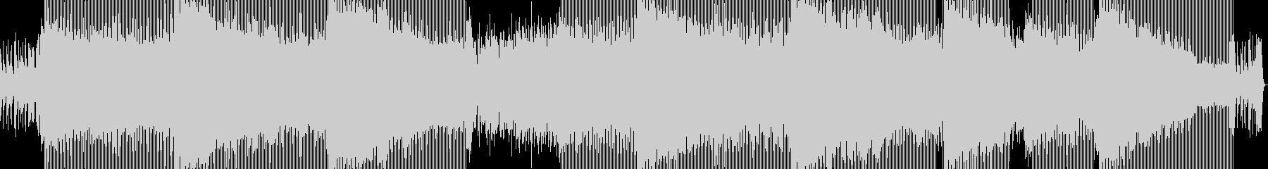 ピアノ即興演奏の未再生の波形