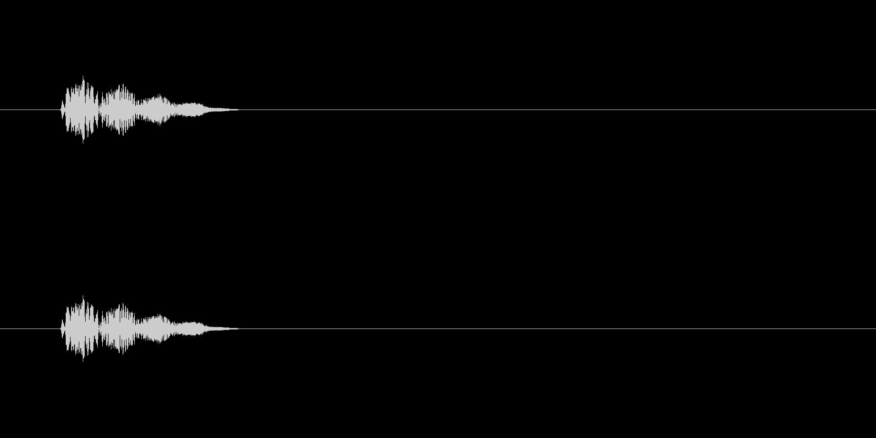 【サイバー19-3】の未再生の波形