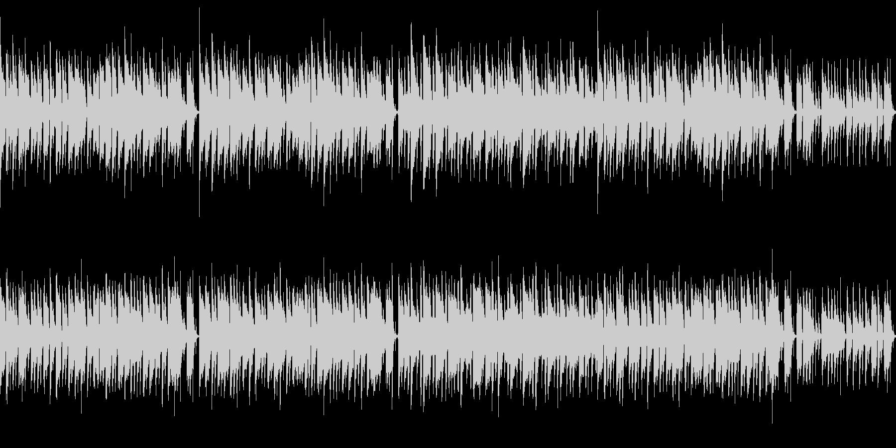 ほのぼのとしたセミナー向け音楽の未再生の波形