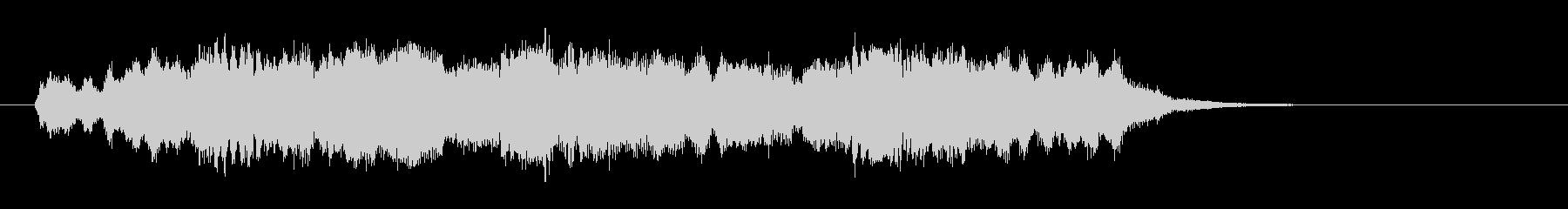 ポップでちょとメルヘンお城のティータイムの未再生の波形