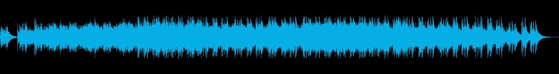 透明感あって音色が綺麗なメロディーの再生済みの波形