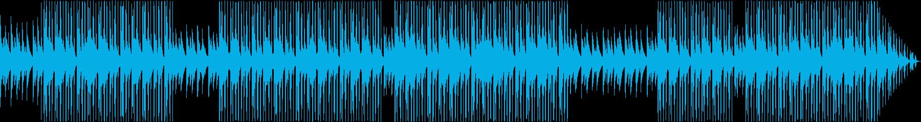 洋楽・海外・ヒップホップ・ピアノ・ベースの再生済みの波形