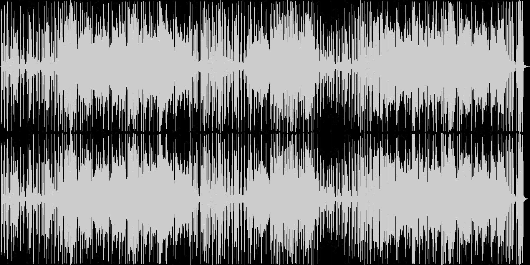 クールで落ち着いたジャズ風モダンサウンドの未再生の波形