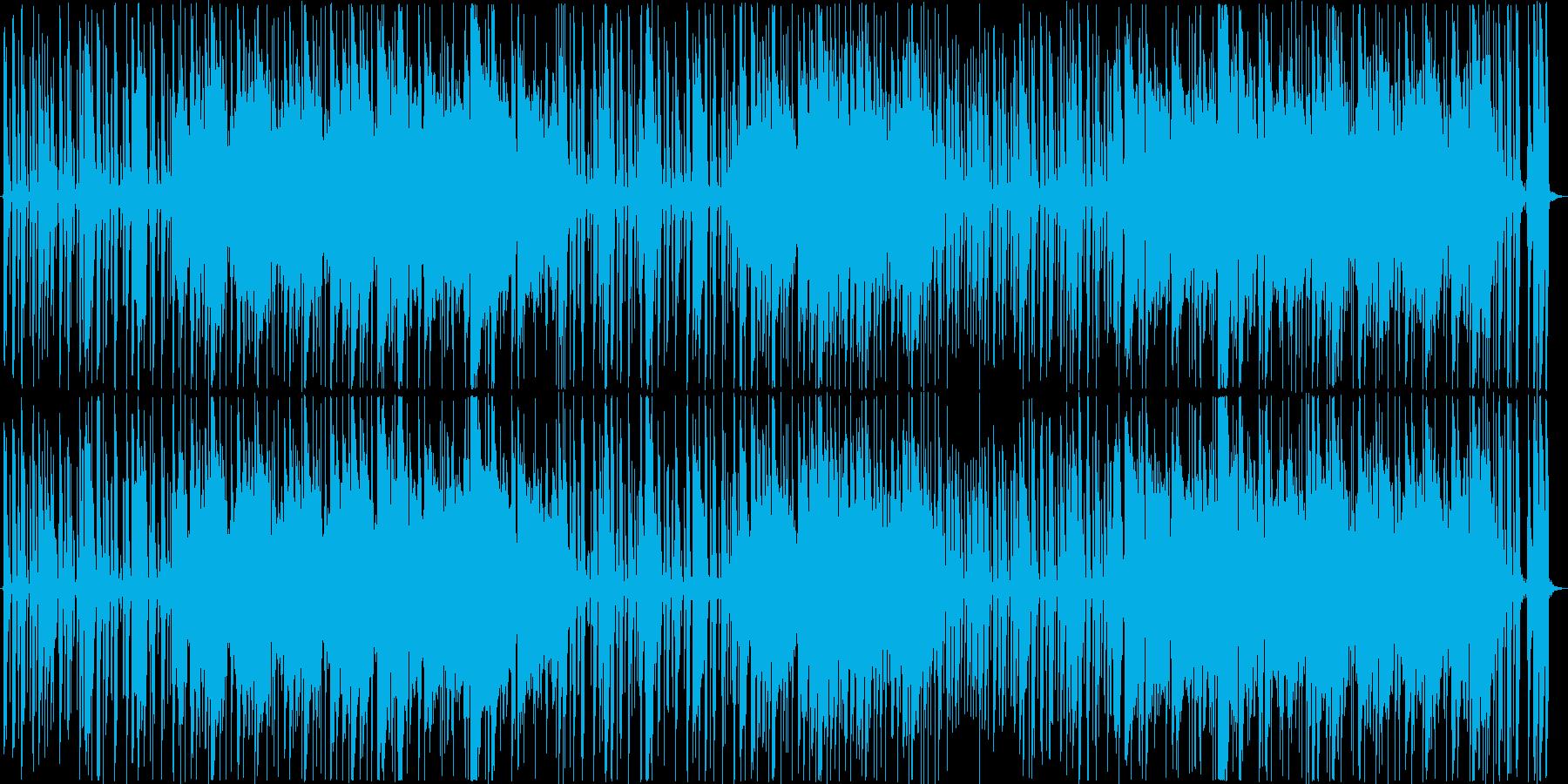 クールで落ち着いたジャズ風モダンサウンドの再生済みの波形