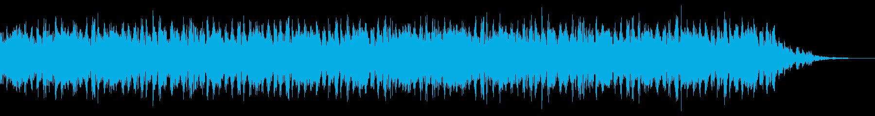 緊迫感や恐怖が近付いてくる音の再生済みの波形