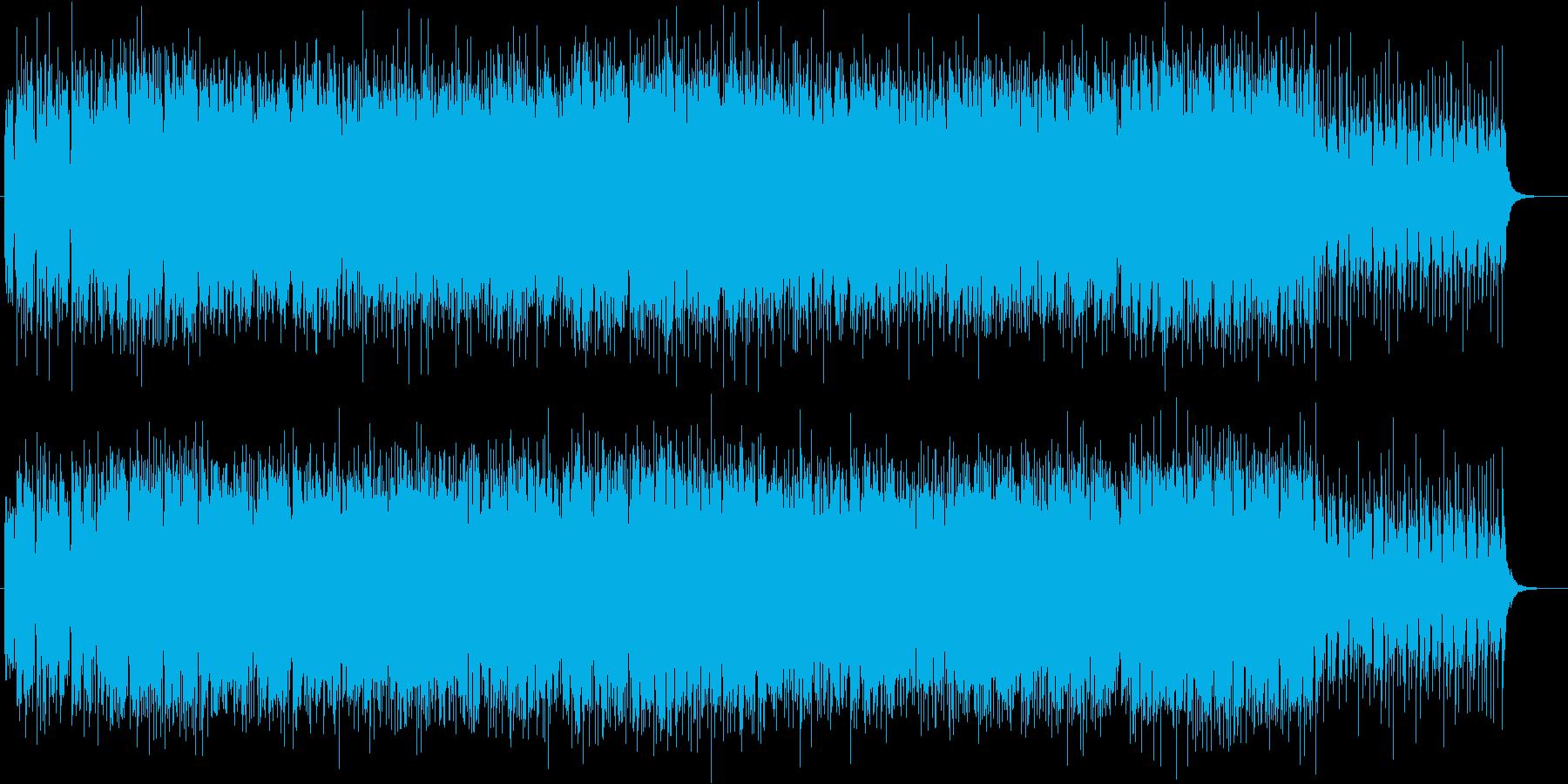 生フルート!美メロ爽やかトロピカルハウスの再生済みの波形