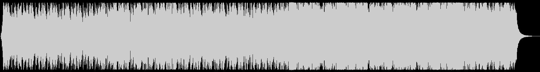 スターウォーズのような迫力あるサウンドの未再生の波形