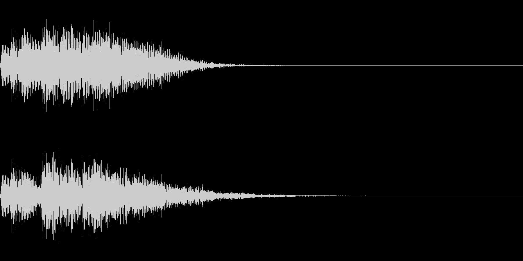 チャララン(回復クリア/ファミコン#7の未再生の波形