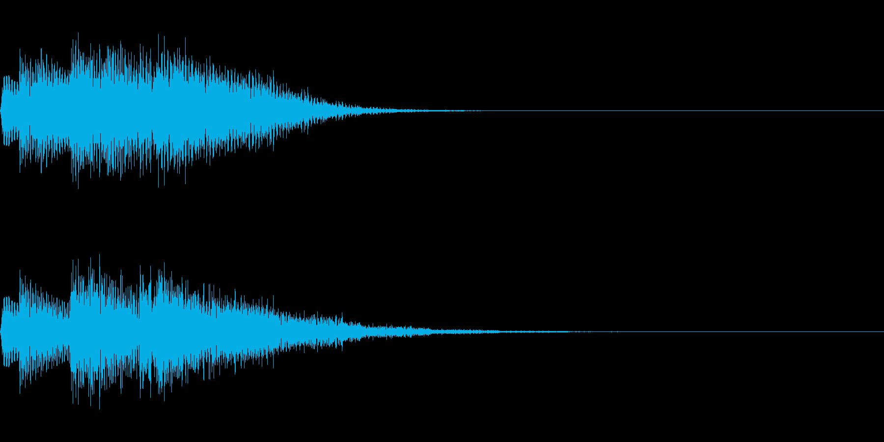 チャララン(回復クリア/ファミコン#7の再生済みの波形