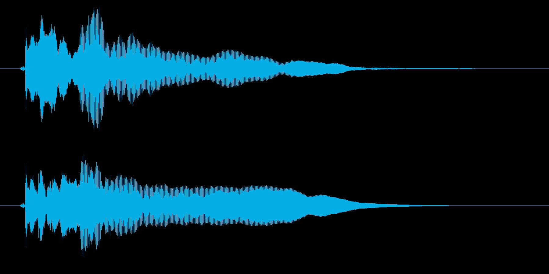 改札 アラーム01-4(音色2 フラップの再生済みの波形