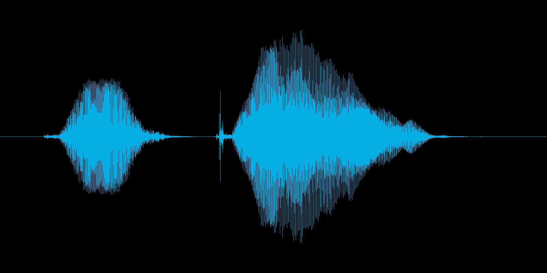 きゅんきゅん2の再生済みの波形