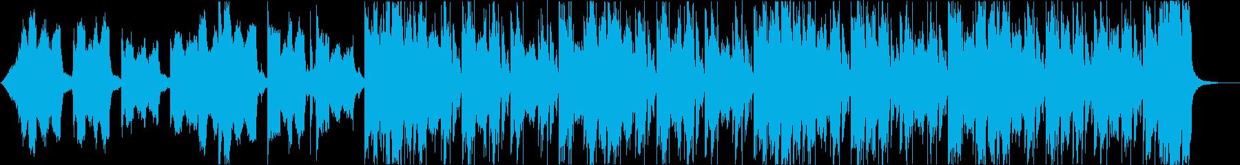 おしゃれクールセクシーR&Bエレクトロbの再生済みの波形