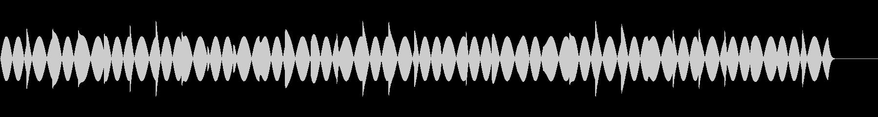 救急車 サイレン   の未再生の波形