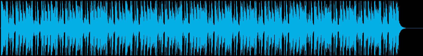コミカルで愉快なエレクトロファンクの再生済みの波形