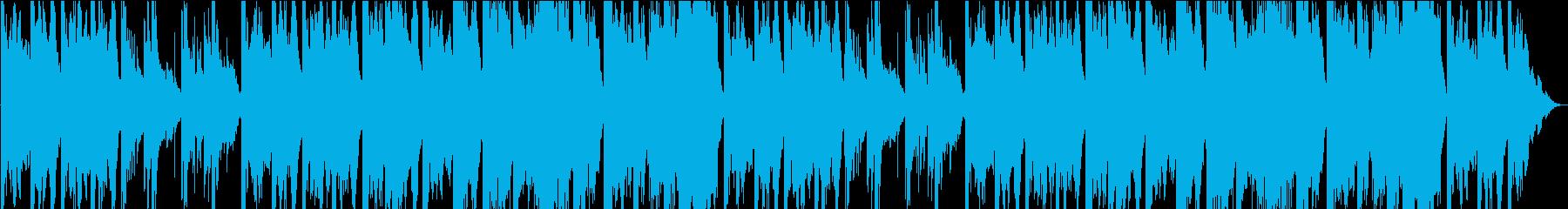 神聖で少し怖いバグパイプメインのケルトの再生済みの波形