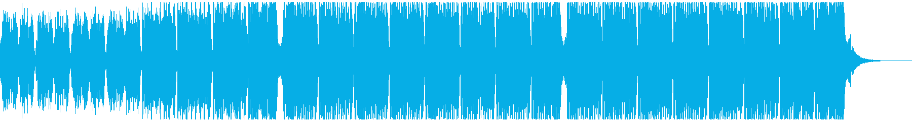 スポーツの動機(60秒)の再生済みの波形