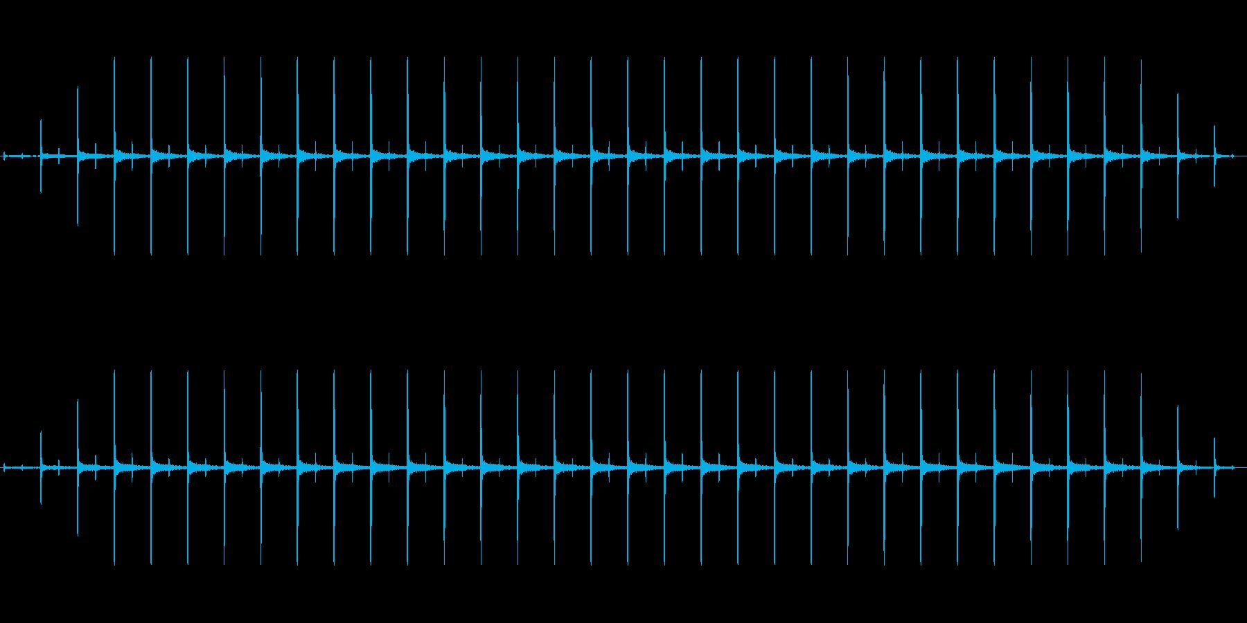 時計 ticktock_22-2_revの再生済みの波形