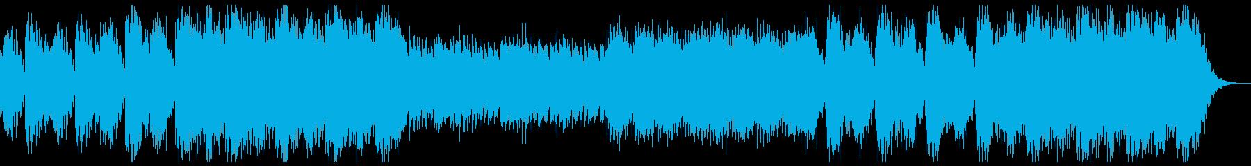 何かが始まる予感を感じるBGMの再生済みの波形
