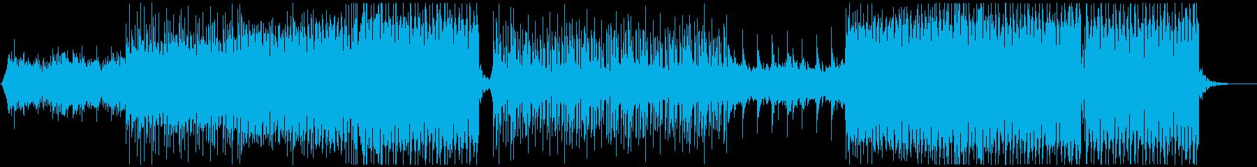 K-pop、洋楽系!EDMトラックの再生済みの波形