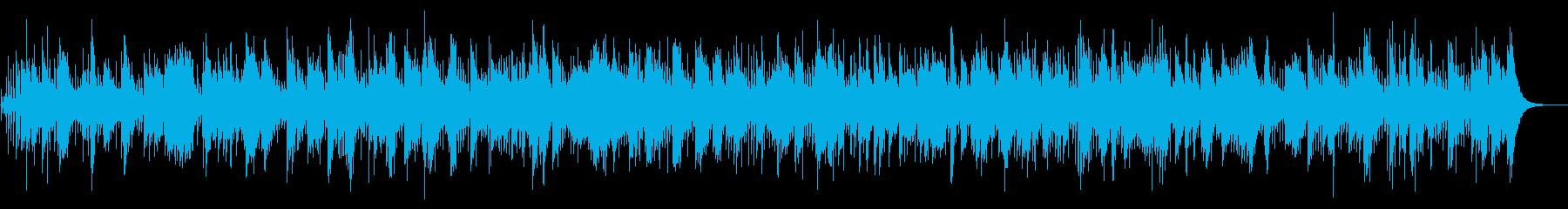 初夏の爽やかなボサノバBGMの再生済みの波形