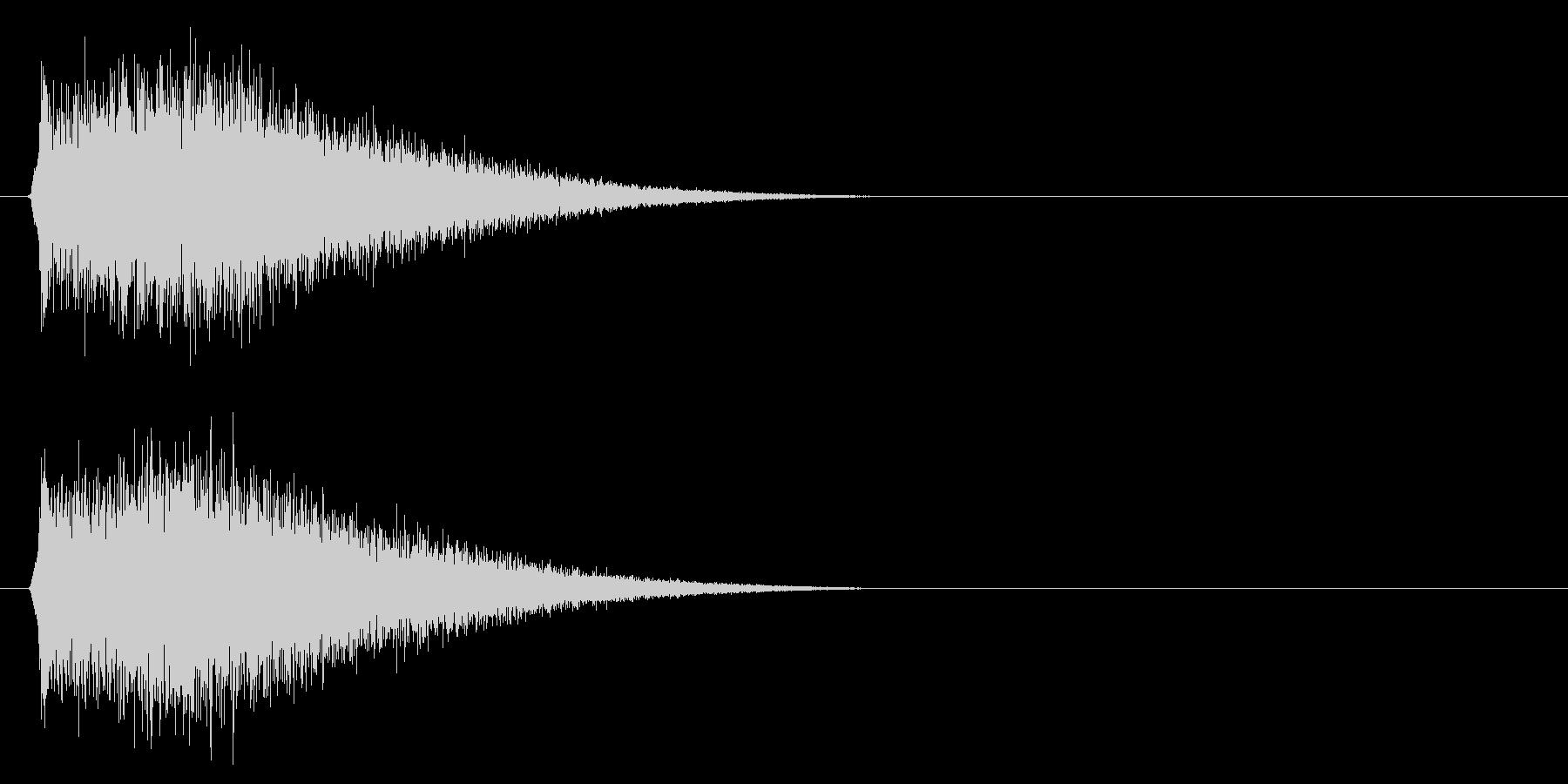 キュイーン/チャージ/ビーム_01の未再生の波形