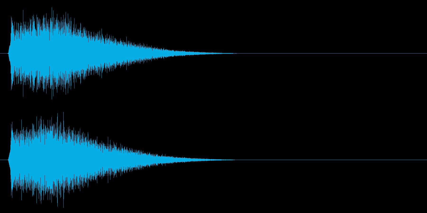 キュイーン/チャージ/ビーム_01の再生済みの波形