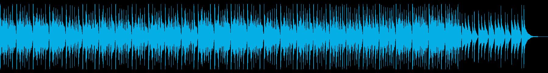 ウクレレとリコーダーがほのぼのかわいい曲の再生済みの波形