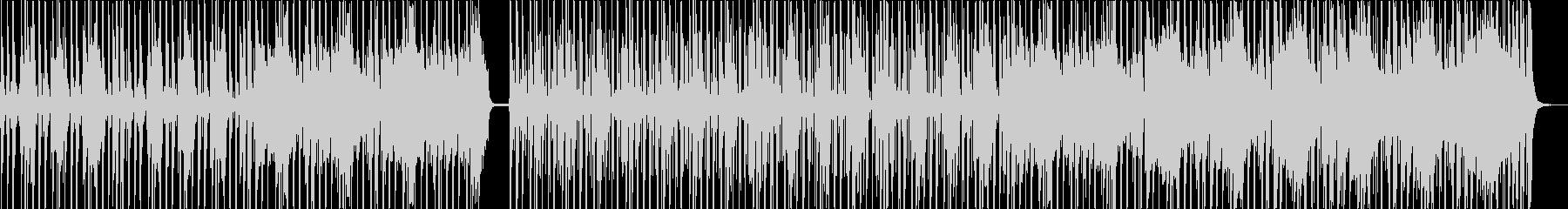 独特なリズムでコミカルなメロディーの未再生の波形