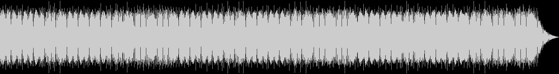温かいケルト音楽の未再生の波形