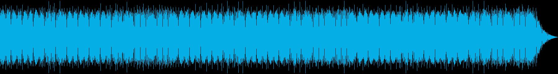 温かいケルト音楽の再生済みの波形