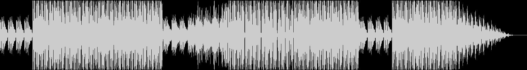 ローファイ オールドピアノ&シンセの未再生の波形
