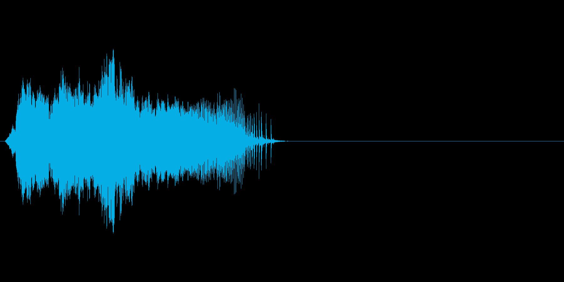 ドアがきしむ音_その6の再生済みの波形