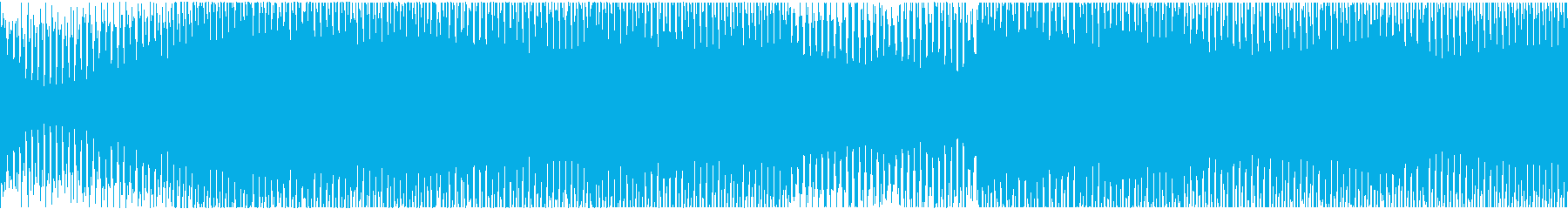 和楽器を用いた和風EDMループの再生済みの波形