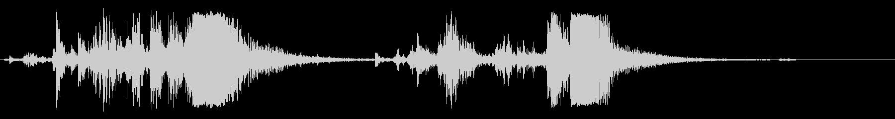 銃 機関銃 リロード音 リアル系の未再生の波形
