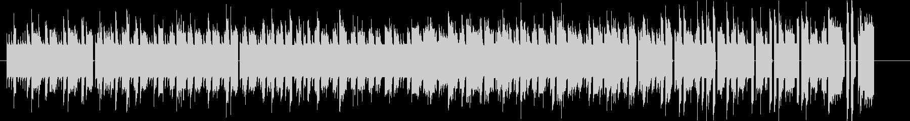 Bitシンセによる暖かなファミコンBGMの未再生の波形