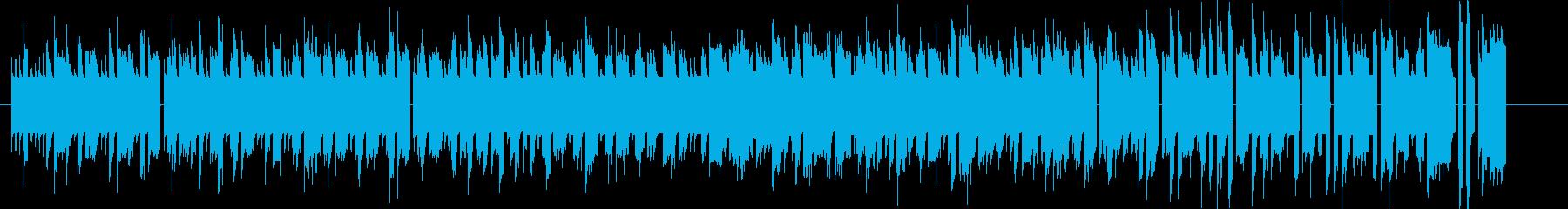 Bitシンセによる暖かなファミコンBGMの再生済みの波形