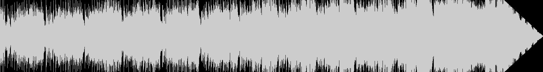 奇妙な音の異世界系ポップBGMの未再生の波形