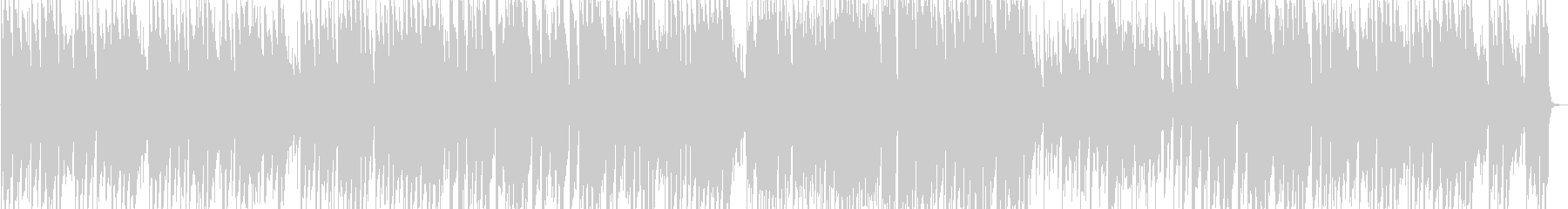 クラシックのジャズアレンジの未再生の波形
