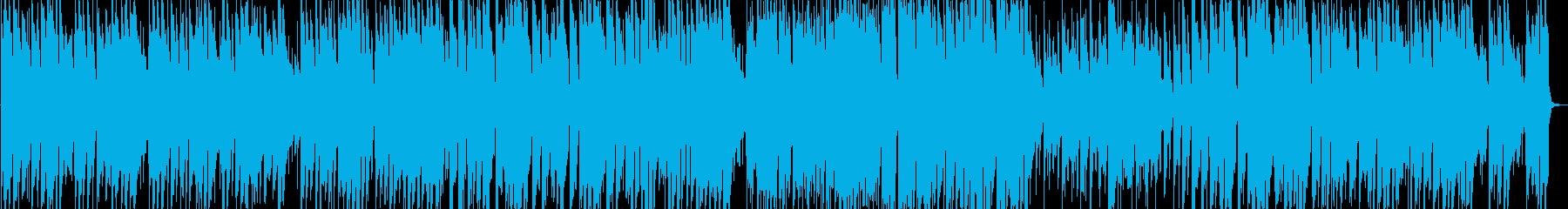 クラシックのジャズアレンジの再生済みの波形