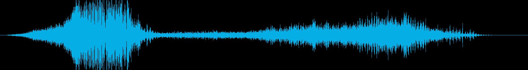 【映画】 動作 攻撃 アタックの再生済みの波形