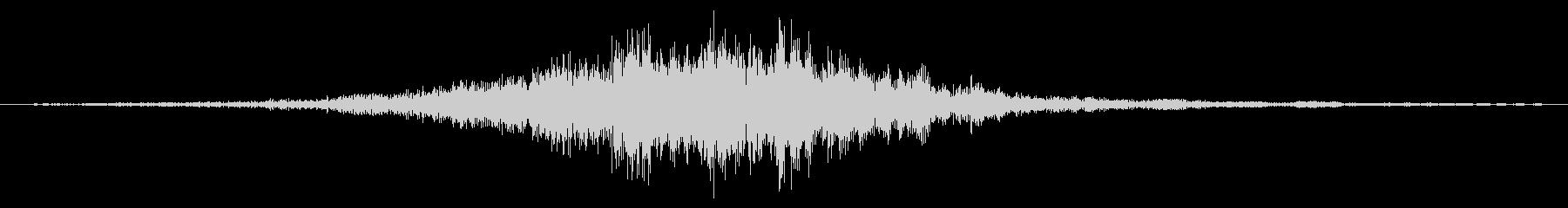 シューッという音EC07_86_2の未再生の波形